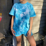 Women Tie Dye Casual Home Style Sets