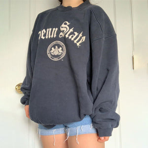 Round Neck Fashion Daily Casual Sweatshirt