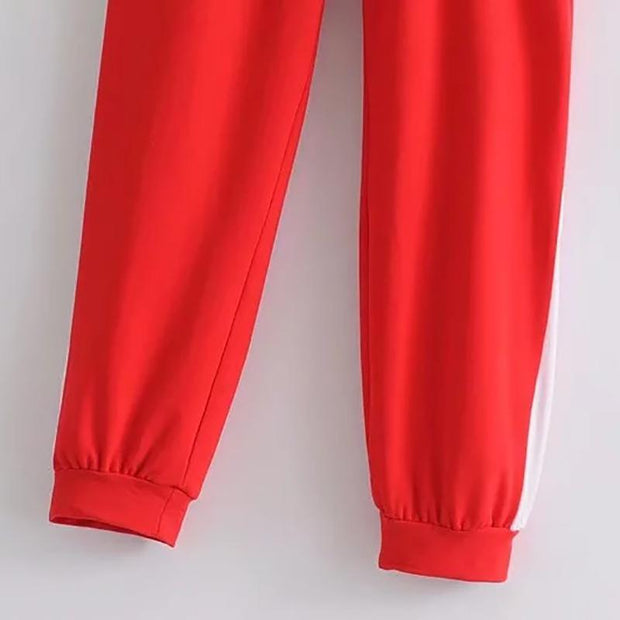 Women's Sporty Fitness Strap Casual Pants