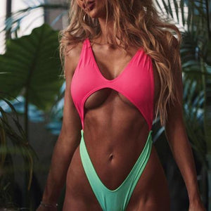 Women swimsuit sexy hollow sexy strappy One Pieces