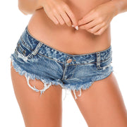 Ripped sexy summer womens denim shorts ss91