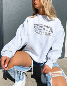 Womens Printed Sweatshirt With Long Sleeves Sweatshirt