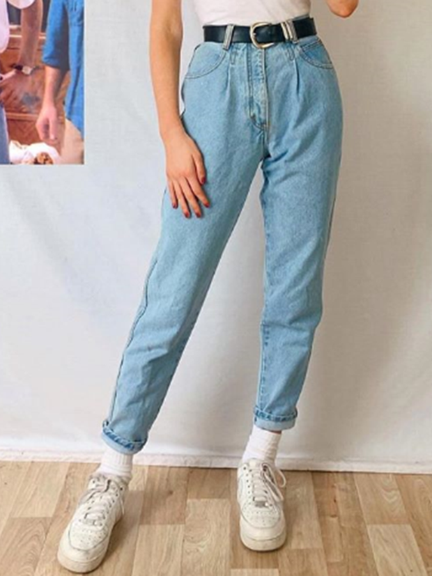 Women's Casual Pure Color Slim Pants