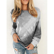 WOMEN COLORED ROUND NECK LONG SLEEVE JUMPER