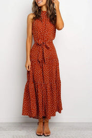 Jacqueline Dress SAGE POLKA DOT
