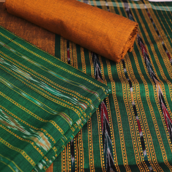 Handloom Sambalpuri Cotton Dress Material