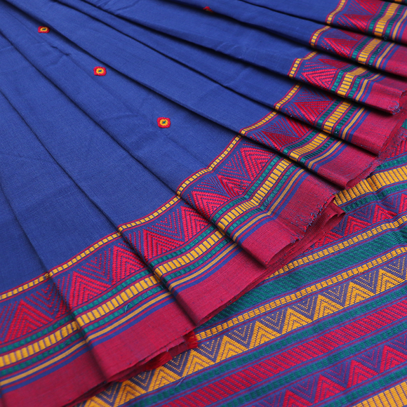 Handloom Cotton Dongaria Saree