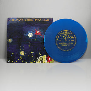 Coldplay - Christmas Lights Limited Blue 7""