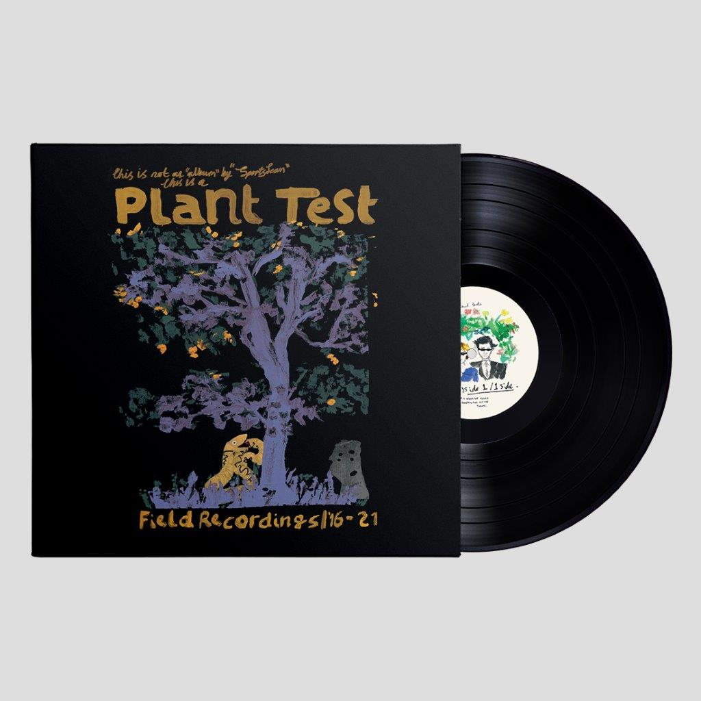 Sports Team - Plant Test Indies Black LP