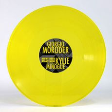 Giorgio Moroder ft Kylie Minogue - Right Here Right Now Ltd Yellow 12""