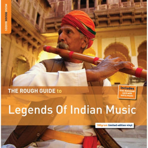 Various : Rough Guide - Legends of Indian Music LP