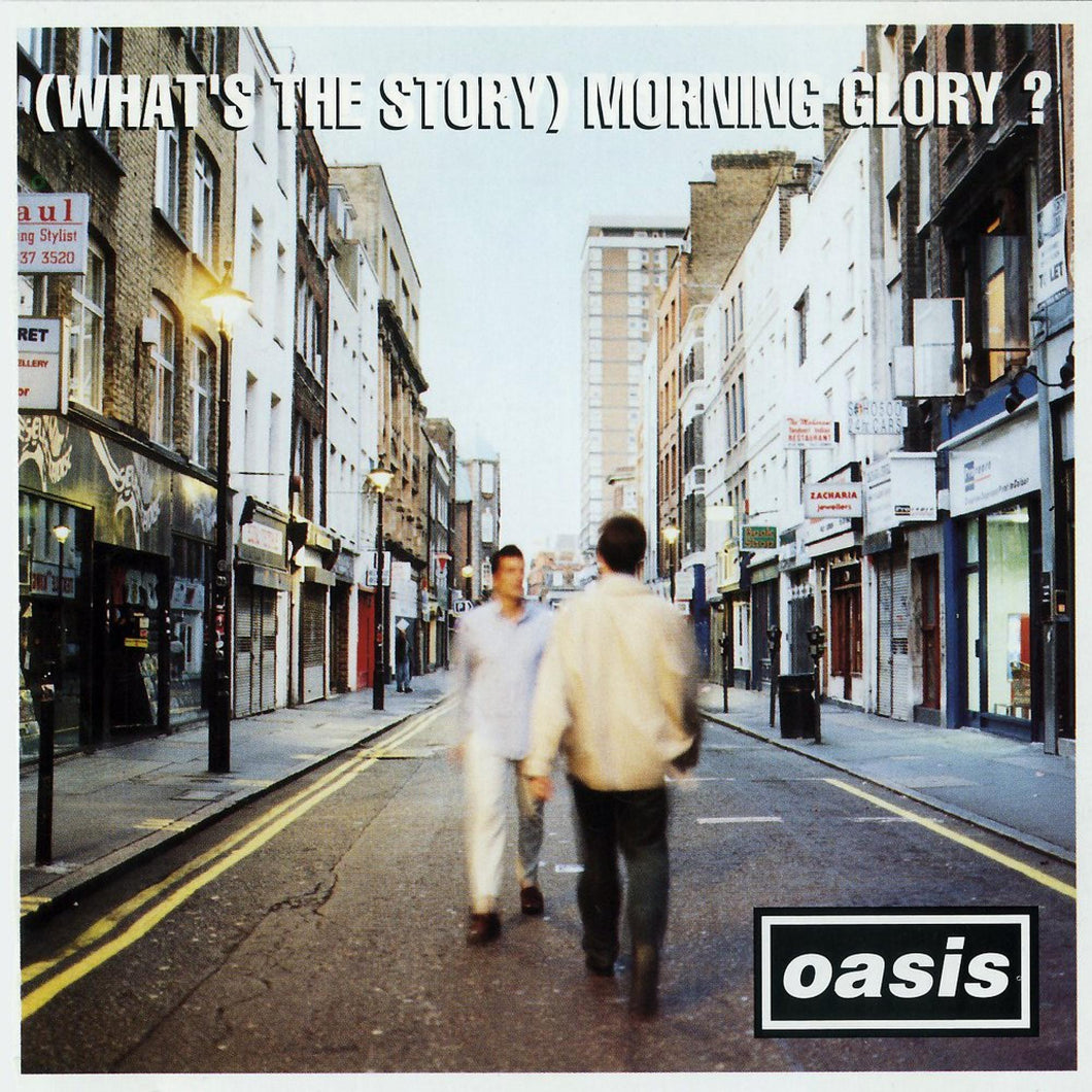Oasis - (What's The Story) Morning Glory? Ltd SILVER Vinyl