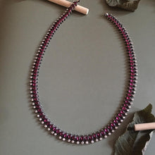 Load image into Gallery viewer, Ruby Long Necklace