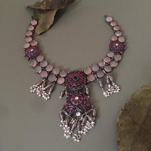 Roseate Chandrakantha Necklace