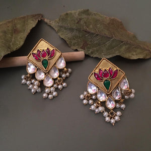 Rukmini Gold plated Earrings