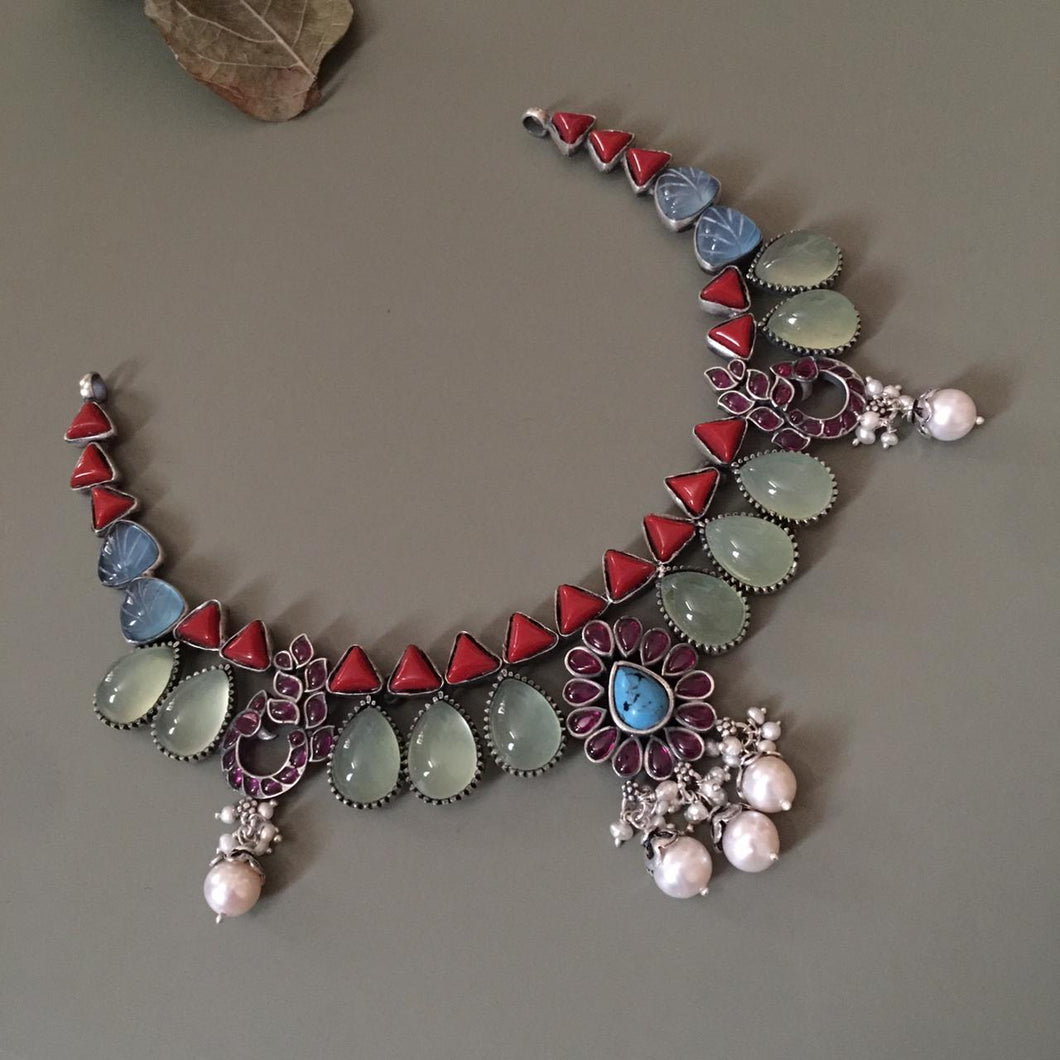 Ela  Chandrakantha Necklace