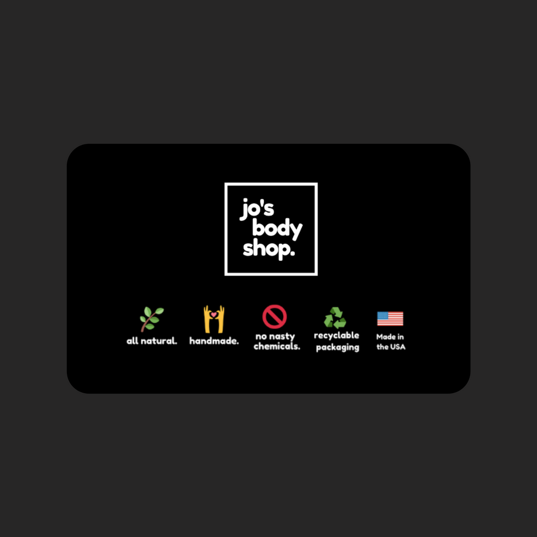 Jo's Body Shop Gift Card