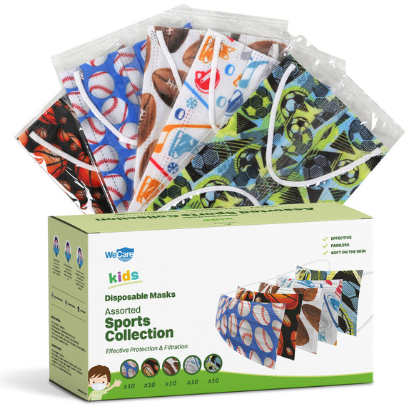 WeCare Kids Adorable Sports Collection Pack