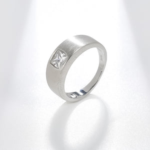 Spirits Unearth Silver Zirconia Ring