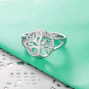 Spirits Unearth Silver Tree of Life Ring