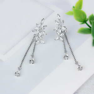Spirits Unearth Silver Zirconia Earrings