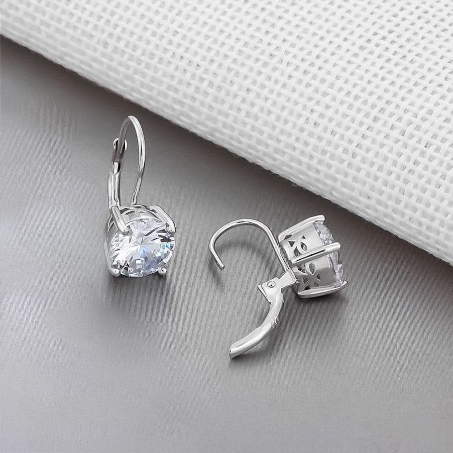 Spirits Unearth Silver Zircon Earrings