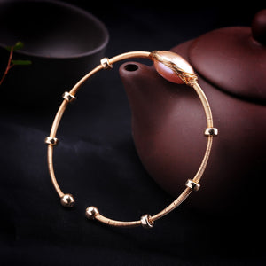 Spirits Unearth 14k Gold South Sea Pearl Bracelet