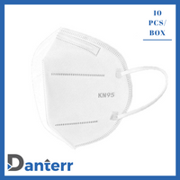 KN95 Protective Respirator Face Mask (Box of 10)