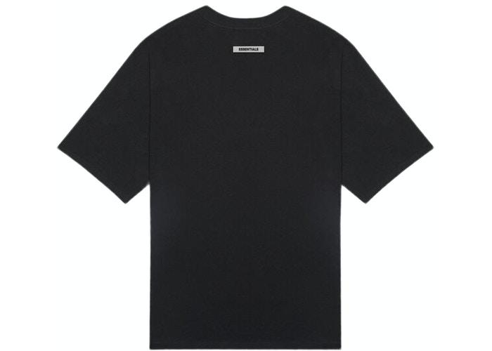 Fear of God Essentials 3D Silicon Applique Boxy T-Shirt - HypeMarket