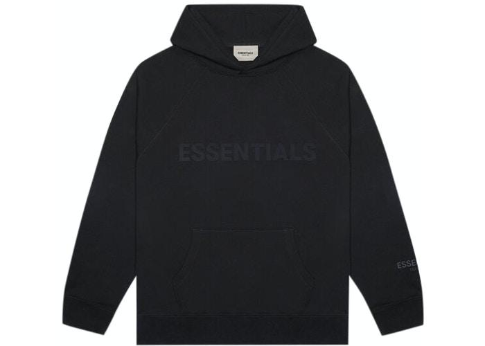 Fear of God Essentials 3D Silicon Applique Hoodie - HypeMarket