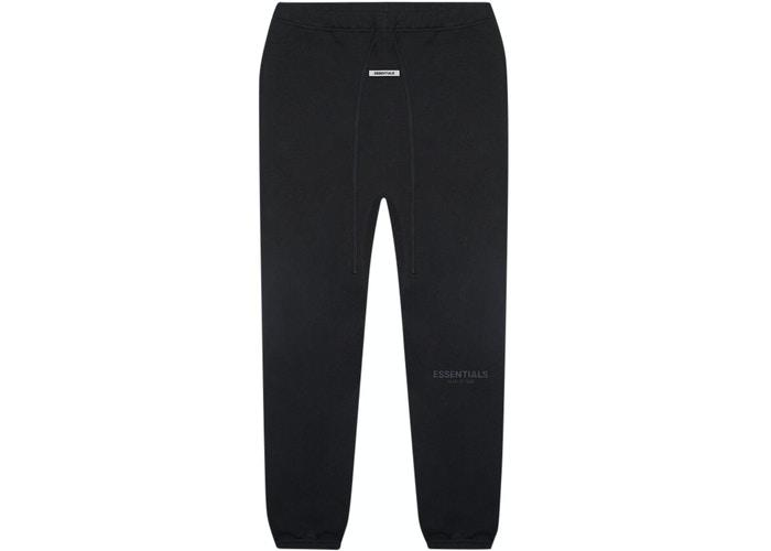 Fear of God Essentials Sweatpants Black - HypeMarket