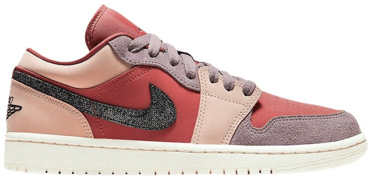 Nike Air Jordan 1 Low Womens 'Burgundy Pink' - HypeMarket