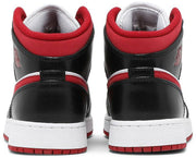 Nike Air Jordan 1 Mid GS 'Black Gym Red' - HypeMarket
