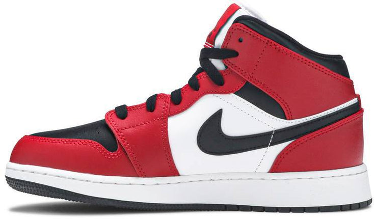 Nike Air Jordan 1 Mid GS 'Chicago Black Toe' - HypeMarket