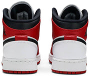 Nike Air Jordan 1 Mid GS 'Chicago White Heel' - HypeMarket