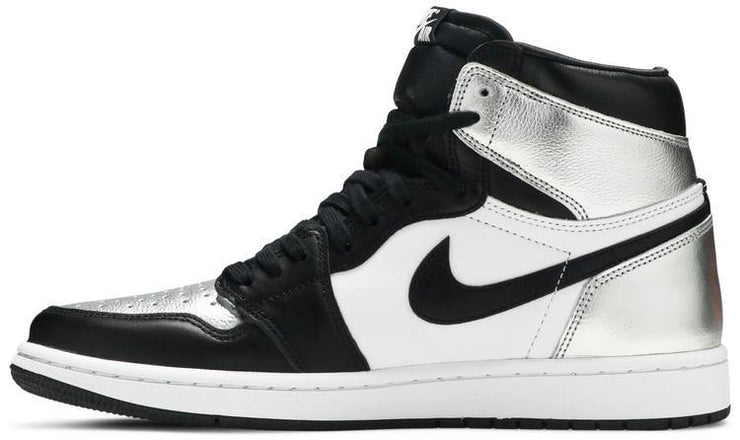Nike Air Jordan 1 Retro High OG Womens 'Silver Toe' - HypeMarket