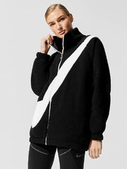 Nike Reversible Swoosh Full Zip Jacket 2-in-1 Sherpa - HypeMarket