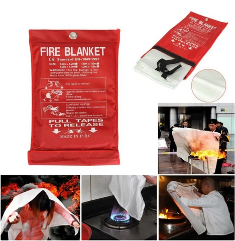 【Black Friday Special Prices!!!】Emergency fire blanket-Free Shipping