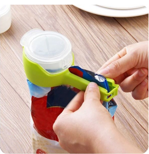 Early Christmas Hot Sale 50% OFF- Seal Pour Food Storage Bag Clip