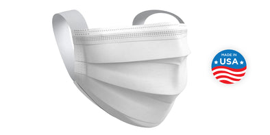 Disposable Face Mask - Made in USA
