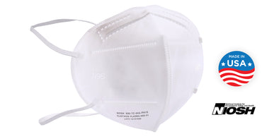 N95 Respirator Mask - Made in USA - Case of 1000