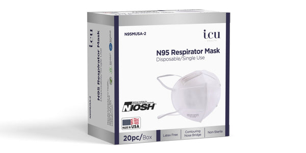 N95 Respirator Mask - Made in USA - Personal Protective