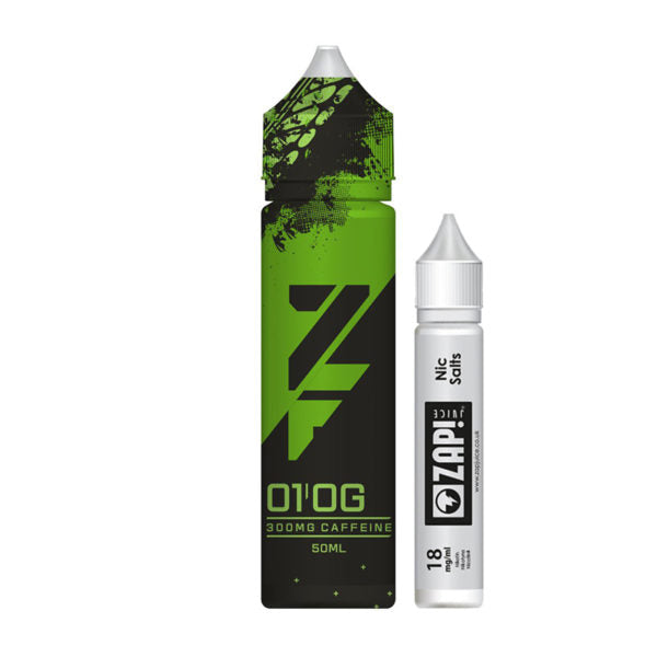 Zap - ZFuel - 01 Original - 50ml 300mg Caffeine Shortfill