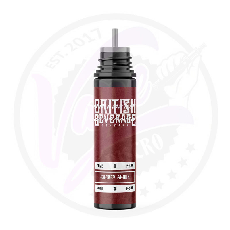 British Beverage - Cherry Amour - 50ml Shortfill
