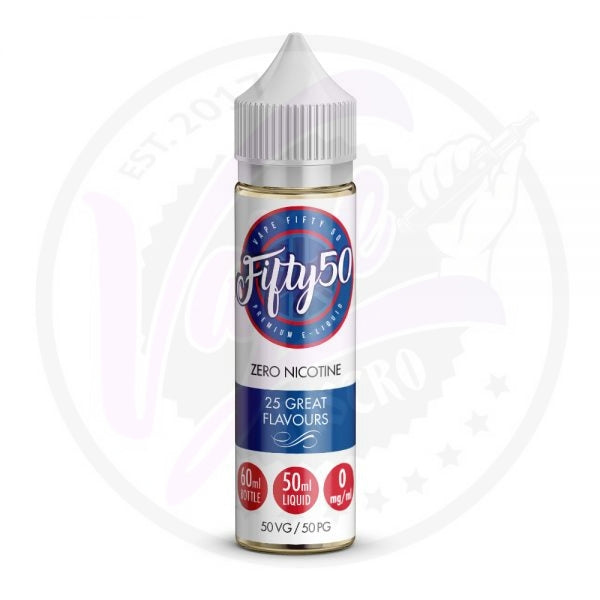 Fifty50 - Lemon Sherbert - 50ml Shortfill