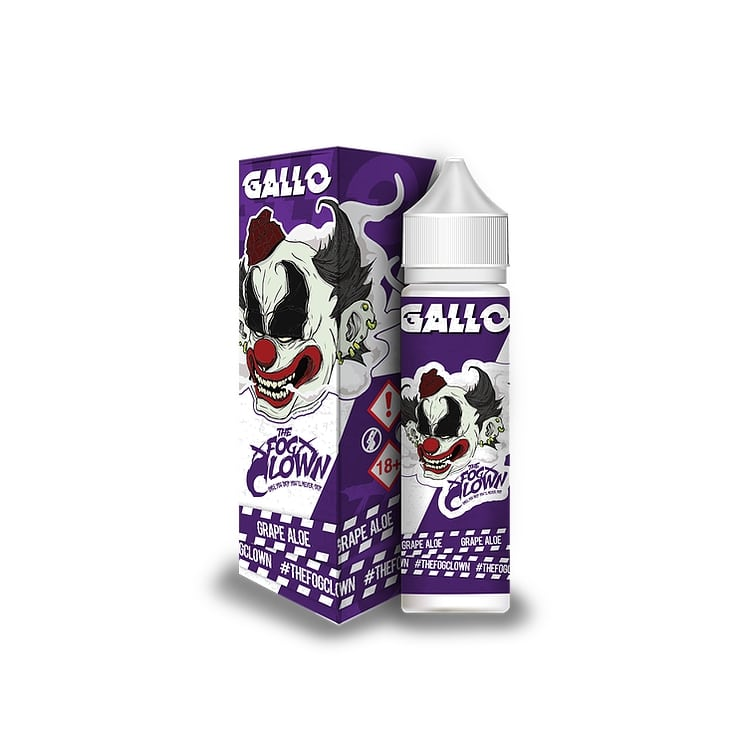 The Fog Clown - Gallo - 60ml Shortfill