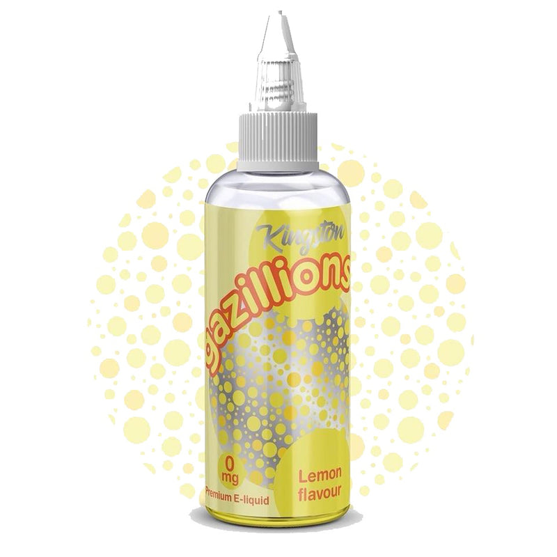 Kingston - Gazillions - Lemon - 80ml Shortfill