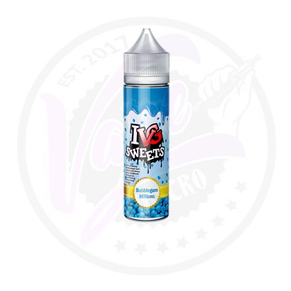 I VG Sweets - Bubblegum Millions - 50ml Shortfill