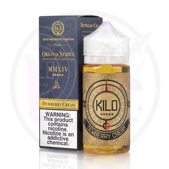 Kilo Original Series - Dewberry Cream - 100ml Shortfill