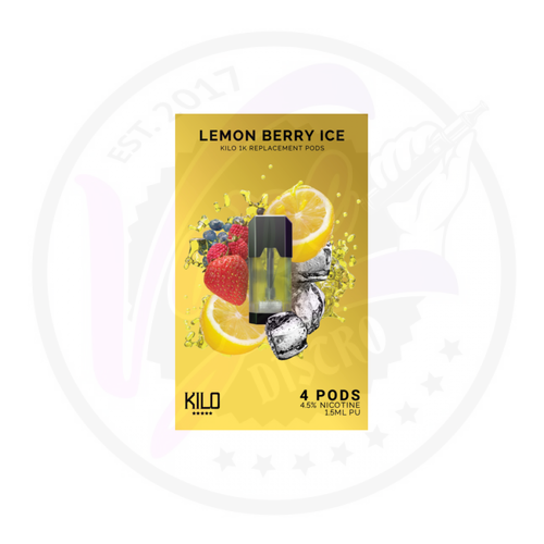 Kilo 1K Pods - Lemon Berry Ice - 20mg/ml
